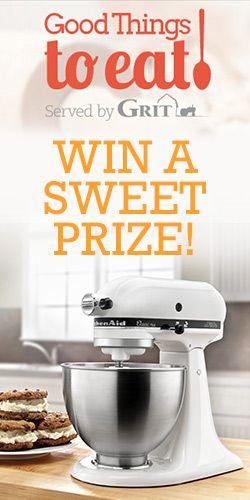 Win A KitchenAid Stand Mixer