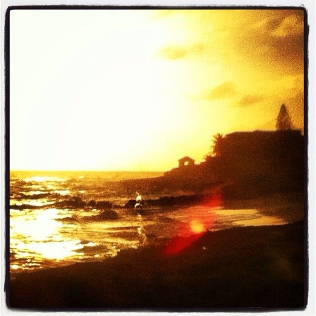 Casa al tramonto