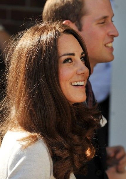The Duke and Duchess of Cambridge arrive at the Royal Marsden Hospital to open a new specialist children's cancer treatment ward.: Duchess Of Cambridge, Prince Williams, Cambridge Arrival, Duchess Catherine, Kate Middleton, Hair, Catherine Duchess, The Royals, Princesses Kate