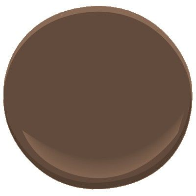 chocolate  brown 2107-10 Paint - Benjamin Moore chocolate candy brown Paint Color Details