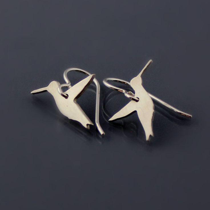Tiny Hummingbird Earrings: Hummingbirds Earrings, Silver Natural, 68 00, Tiny Hummingbirds, Sterling Silver, Earrings Gems, Fashion Jewelry, Earrings Sterling, Sara Style