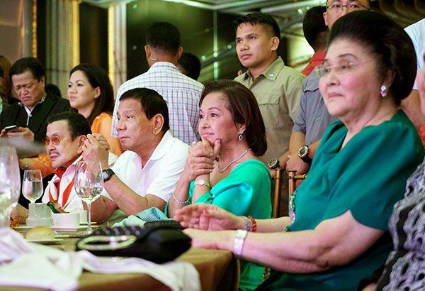 Erap celebrates 80th birthday with Digong, JPE | Headlines, News, The Philippine Star | philstar.com