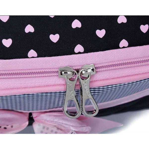 Kids Waterproof Schoolbag Girls Backpack Primary Students Tutorial Bag Bowknot Handbag