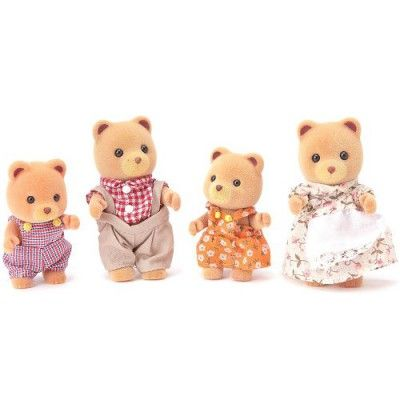 Sylvanian Family 3112 : Famille ours roux