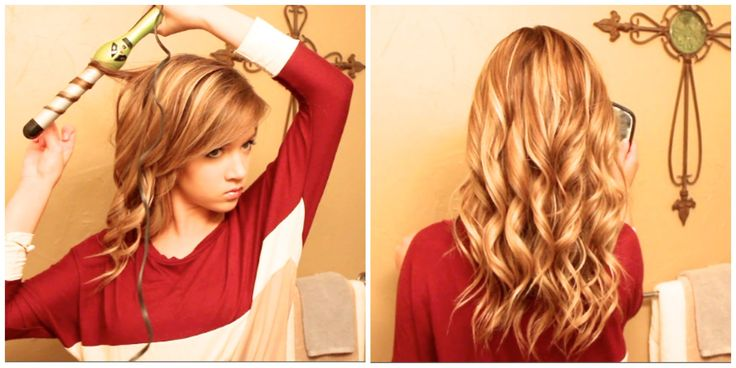 Hair Tutorial: How I Curl My Thick Long Hair With A Wand