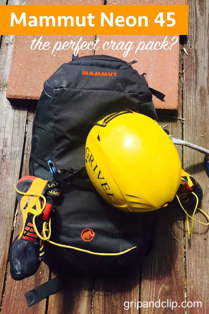 Review of the Mammut Neon 45 crag pack. Is the Neon 45 crag pack the perfect crag pack? Click and find out!