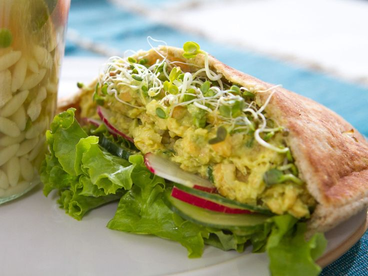Chickpea Salad Sandwiches recipe from Trisha Yearwood via Food Network