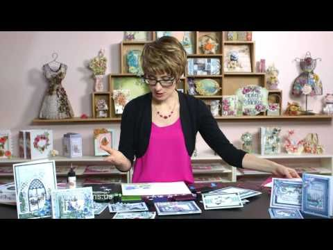 EZ Way to Create Christmas Cards in 30 minutes or less! -Snow Kissed Collection - YouTube