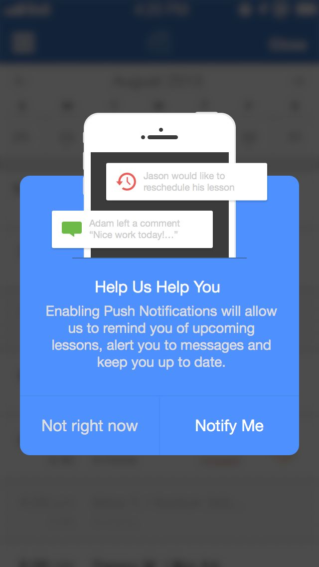 Mobile Popup Modal | Mobile User Interface Design #UI