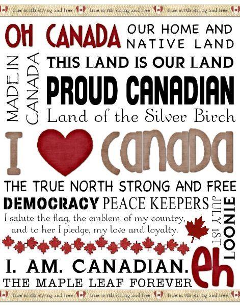I love Canada!                                                                                                                                                                                 More