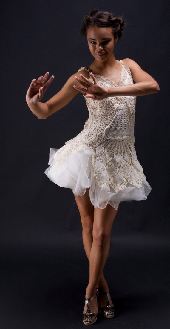 The Doily Dress made to order by ArmoursansAnguish on Etsy, $290.00