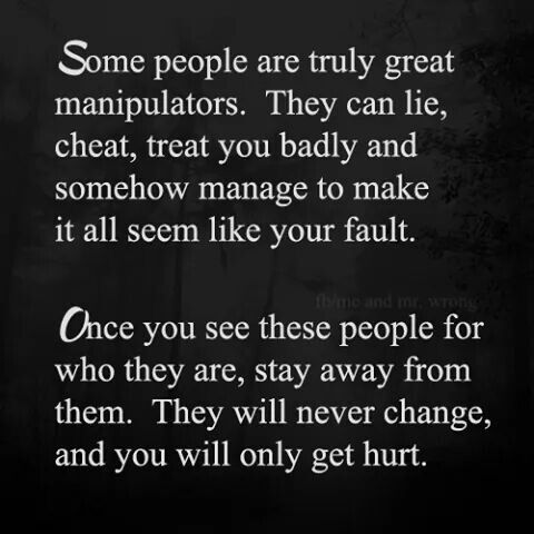 Narcissism. Stop with your endless apologies. It's what they want, and what happened is mostly not your fault.