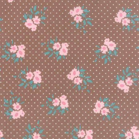Moda Fabrics MKS2891-15 Kindred Spirits Brown by Bunny Hill Designs // Moda at Juberry Fabric