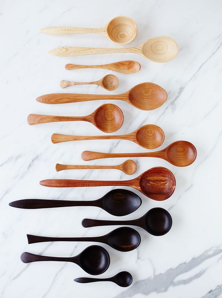 ombre spoons