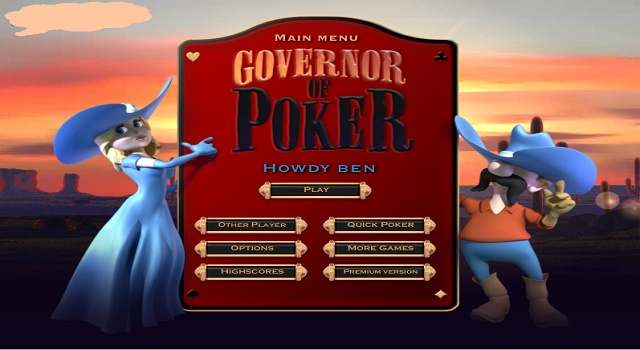 Your mission is to become the Governor of Poker and you have returned to your hometown in San Saba to do so! To do this you will have to take over every home in the town. I you love the game of Texas Hold\Em than this is a super exciting game for you! You get to choose whether you are male or female and play with old western poker pros! Your only Goal: Get a hold of Texas! This game is free.