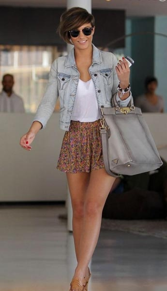 Frankie Sandford from the girlband The Saturdays has always a great style......I really like this outfit.