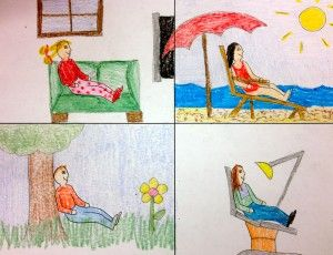 "show kids how important setting is to a story - great ""mystery"" drawing activity...Love this!"