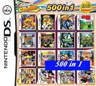 freeship 500 in 1 cartridge Nintendo DS NDS DSLITE/DSi/3DS/3DS Xl Multigame card