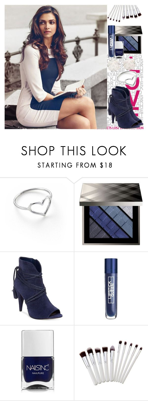 """""""💗Cute DP💗"""" by mmsbeg ❤ liked on Polyvore featuring Jordan Askill, Burberry, Vince Camuto, Lipstick Queen, Nails Inc. and Chanel"""