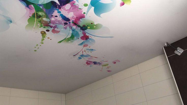 Sufit napinany ART-PRINT. / ART-PRINT stretch ceiling.
