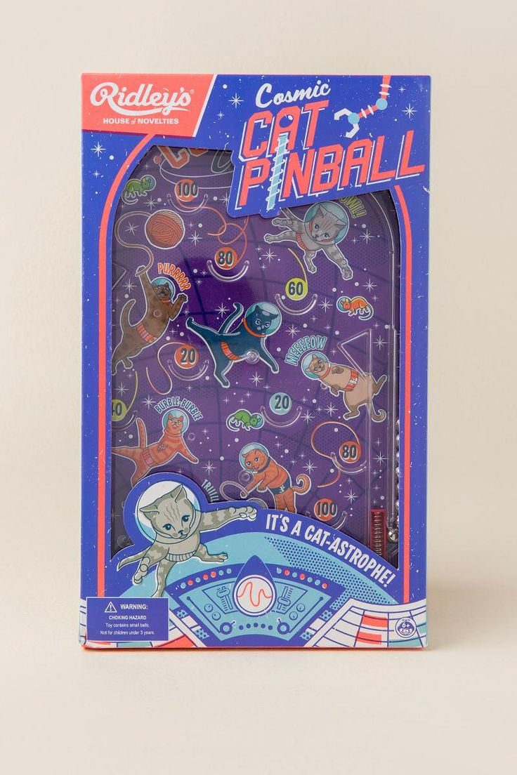 Cosmic Cat Pinball Game