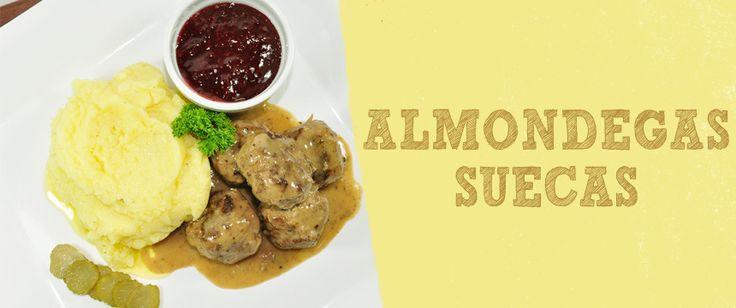 Receita de Almondegas Suecas | Svenska Köttbullar