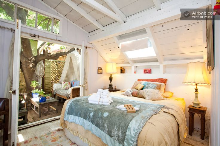 artsy and rustic 1927 tree house in los angeles artsy bedroom dream