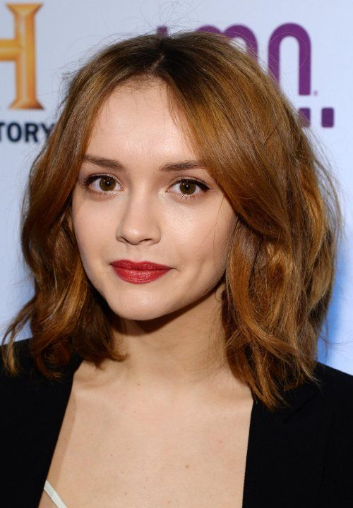 Like the hair! :) > Olivia Cooke at event of Bates Motel