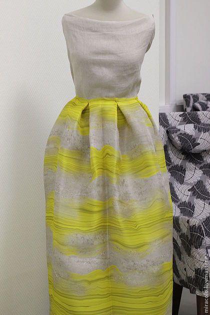 Органза шелковая, Ar-N17 - шелк,шелк натуральный,шелк из италии,платье