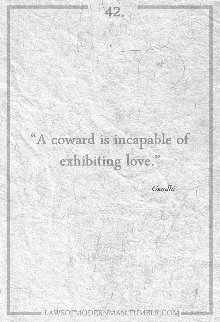coward: Quote