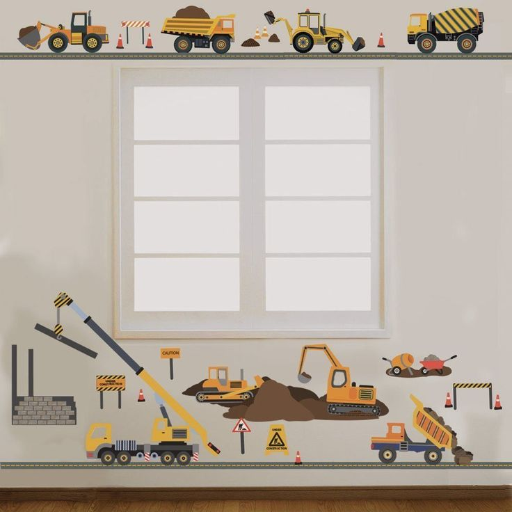 1000 ideas about cement mixers on pinterest cement for Construction site wall mural