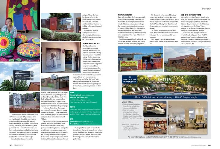 _ Soweto for Travel Ideas mag