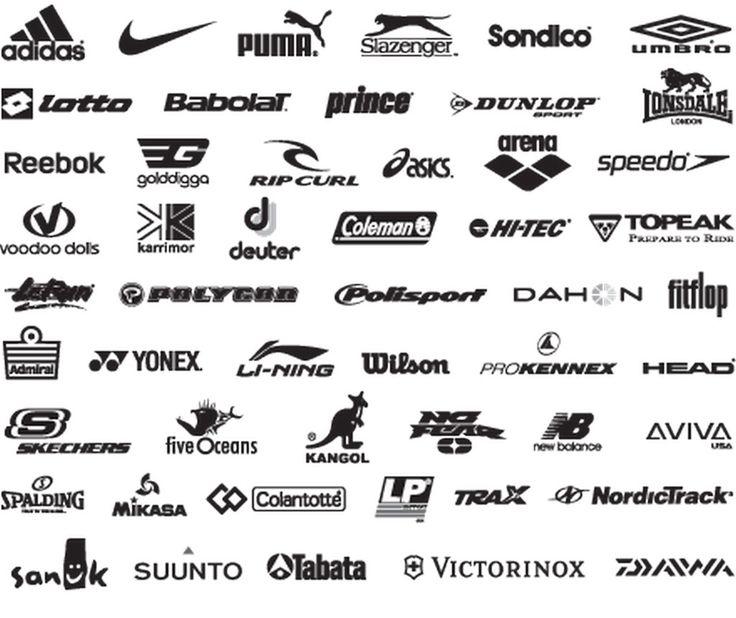 Sportswear Brand Logos Sports brand logos, Clothing