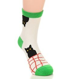 Thick Cat Pattern Decorated Simple Design Green Small and catchy REPIN if you love it.😍 Only 43.5 IDR