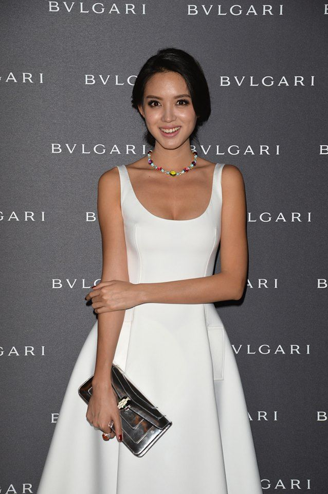 Zhang Zilin attends the Bulgari - Autumn/Winter 2014 Accessories Presentation during Milan Fashion Week  Photo credits: Getty Images
