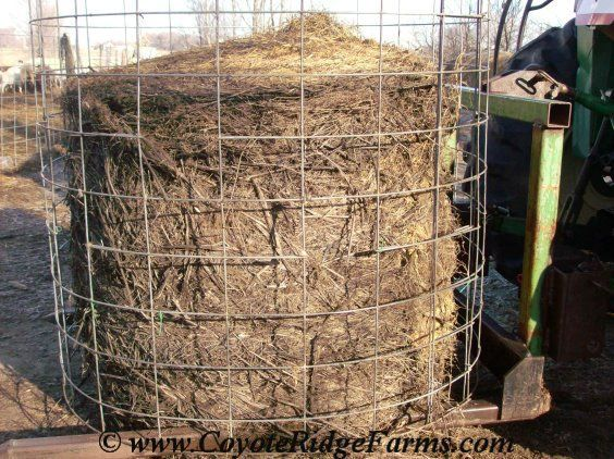 Image Result For Pvc Pipe Round Bale Feeder Sheep Feeder