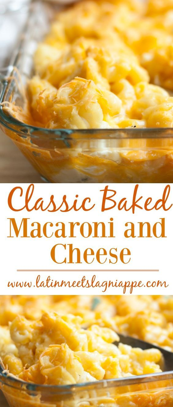 Baked Macaroni on Pinterest | Macaroni And Cheese, Cheese and Macaroni ...