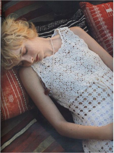 15 Beautiful Free Crochet Dress Patterns