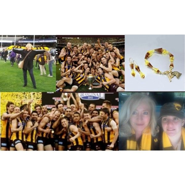 """Hawks Premiership 2013 AFL"" BIGGEST FANS - Charmaine & Nerida Leone"