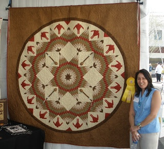 Quilts Etc!: American Indian Quilts  Round Dance by Carla Hemlock