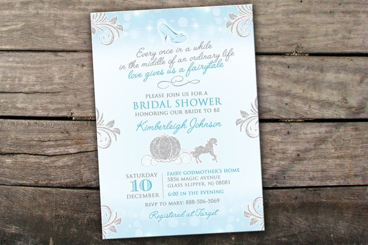 Welcome to Savannahs Memories!  PLEASE READ THROUGH THIS LISTING IF YOU HAVE ANY QUESTIONS! =)  This Princess Bridal Shower invitation is perfect for any Bride to Be who has found her prince. This elegant but simplistic invitation is complete with a faux silver glitter carriage and glitter flourishes and sophisticated fonts.  ***DESCRIPTION***  This listing can be for BOTH a digital file OR printed invitations. If you choose Digital File Only, no printed material will be mailed to you! Y...