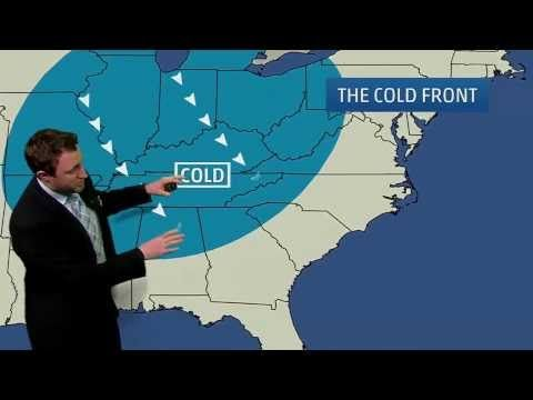 Meteorologist Ryan Davidson Explains Weather Maps - YouTube - Lesson 14