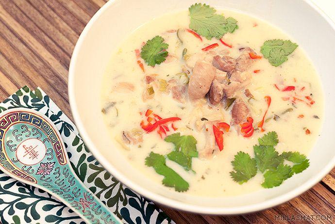 Tom Kha Gai (thai kyllingsuppe) | Millas Mat