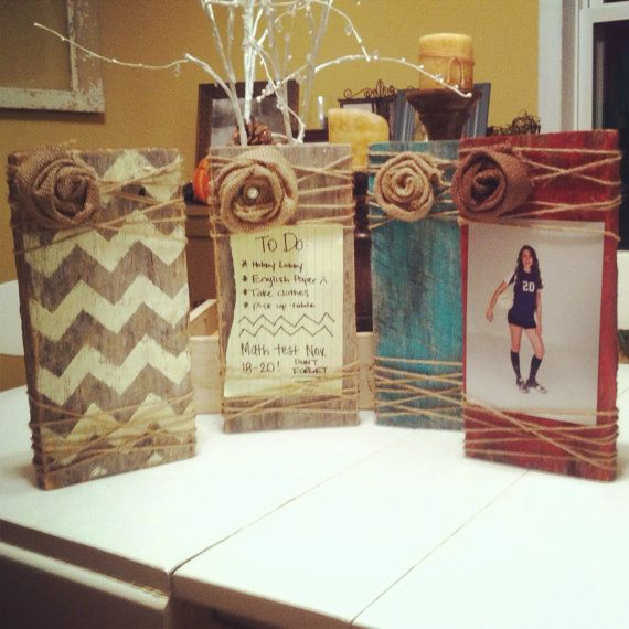 Wood & Twine Frames on Etsy, $12.00