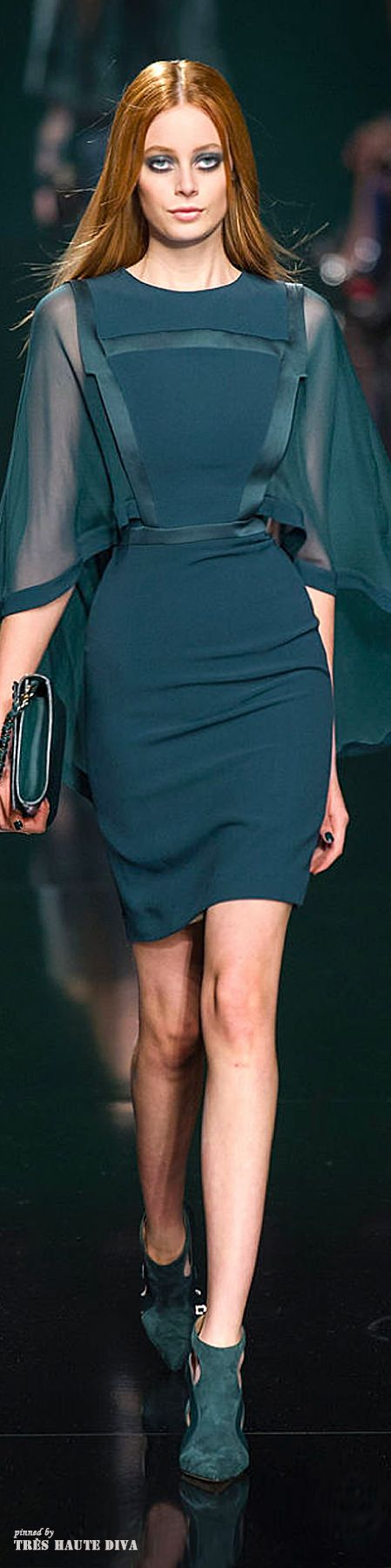 Elie Saab Fall/Winter 2014 RTW - Paris Fashion Week                                                                                                                                                      More