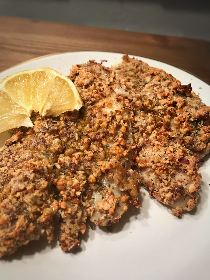 Baked Almond Crusted Tilapia | A Food Blog - Simple recipes with less than 8 ingredients -