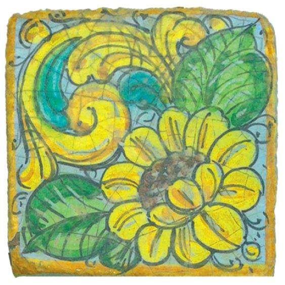 Mattonelle in cotto ceramizzato - Linea Floreo