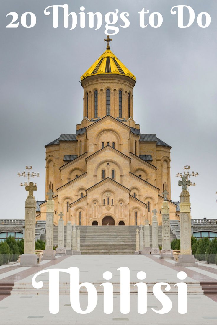 Travel the World: 20 things to do in Tbilisi, the capital city of Georgia (the country). #Tbilisi #Georgia #travel