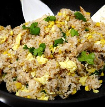 Leftover Chicken Adobo Fried Rice