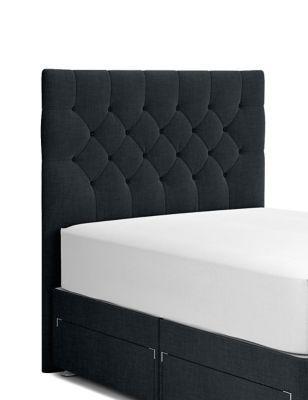 Deep Button Headboard Black Headboard Bedroom Dimensions Duvet